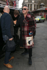 Robbie Williams out and about, London, UK - 21 Nov 2019