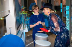 Queen Maxima at the NEMO Science Museum, Amsterdam, The Netherlands - 21 Nov 2019