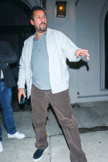 Adam Sandler out and about, Los Angeles, USA - 20 Nov 2019