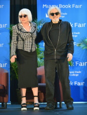 FL: An evening with actor/musician Debbie Harry with Chris Stein at the 36th annual Miami Book Fair