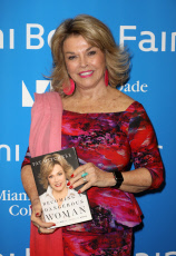FL: Pat Mitchell Presents Becoming A Daferous Woman during the Miami Book Fair -Day 4 presented by Miami Dade College.