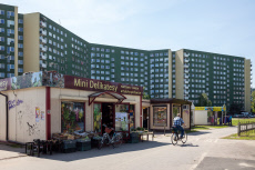 Prefabricated housing estate in Wroclaw