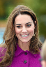 Kate Duchess of Cambridge Visits Nook Childrens Hospice
