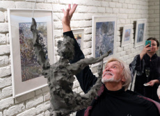 Russia: Exhibition of watercolours by choreographer Vladimir Vasiliev