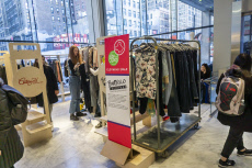 Reuse and recycle clothing in New York