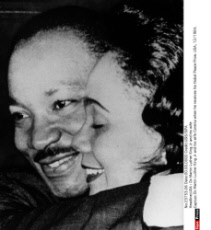 USA : Dc Martin Luther King Jr and his wife
