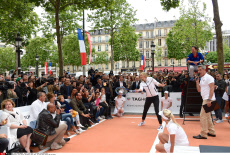 Paris Maria Sharapova takes part in fund event hosted by Tag Heuer
