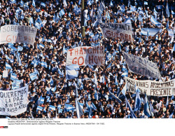 ARGENTINA : Demonstration against Margaret Thatcher