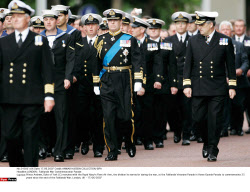 LONDON : Falklands War Commemoration Parade