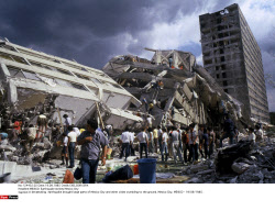 1985 Mexico City earthquake 30th anniv., on 19/09/2015
