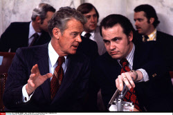 Thompson and Gurney During Watergate Hearings