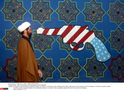 IRAN : 28th anniversary of the storming of the US embassy