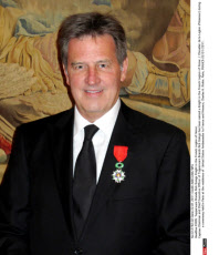 PARIS: Tupperware Brands Rick Goings Knight in the French Legion of Honor,