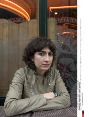 PARIS. Isabelle Saporta journalist and writter