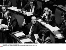 PARIS : Jacques Chirac a l'Assemblee Nationale