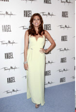 NY: EVA MENDES REVEALS HER NEW CAMPAIGN FOR ANGEL BY THIERRY MUGLER