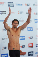 PARIS: Camille Lacourt At The EDF Swimming Open