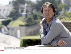 SAINT LUNAIRE  : Nicolas Hulot at home in Bretagne