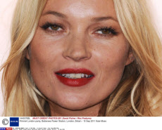 Kate Moss's 40th anniversary on 16/01/2014.