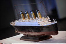 NY:TITANIC ARTIFACTS ON DISPLAY BEFORE AUCTION