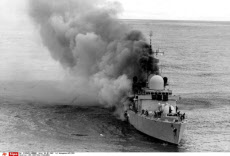 HMS SHEFFIELD FALKLANDS