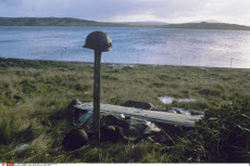 Falkland Islands War Dead Burial Place 1982