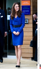 U.K.: Duchess of Cambridge Visits The Treehouse in Ipswich