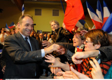 LE RAINCY: Nicolas Sarkozy meeting