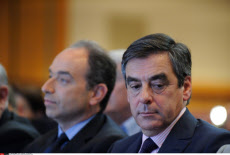 PARIS: Francois Fillon and Jean Francois Cope