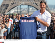 PARIS: Zlatan Ibrahimovic news conference