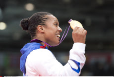 LONDON: Olympic Games, French Judo Gold Medalist Lucie Decosse