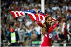 LONDON:  Olympic Games, Day 9, Sanya Richards-Ross Wins the Women's 400m