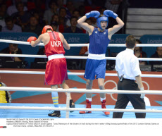 LONDON : Boxing, Alexis Vastine of France