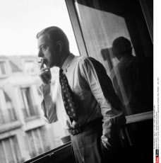 FRANCE, PARIS : Jacques Prevert a la fenetre