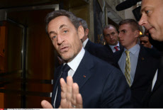 NY: FORMER FRENCH PRESIDENT NICOLAS SARKOZY GIVES FIRST CONFERENCE IN NEW YORK