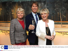 The Lady Taverner 25th anniversary tribute lunch to Sir Cliff Richard, Dorchester Hotel, London, Britain - 09 Nov 2012