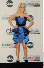 2012 American Music Awards Press Room