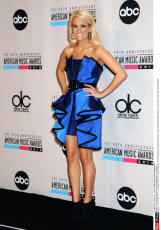 L.A.:40th Anniversary American Music Awards - Press Room