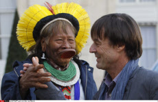 PARIS : Kayapo tribal leader, Raoni Metuktire
