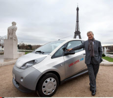 PARIS: Autolib, first anniversary of the electric car