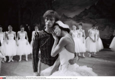 Paris : Dance Festival, Rudolf Nureyev and Margot Fonteyn Royal Ballet company in Champs Elysees Theatre