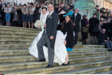 NANCY: Royal Wedding, Archduke Christoph of Austria and Adelaide Drape-Frisch.