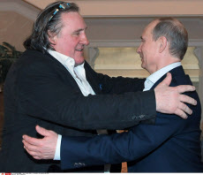Depardieu flees France to avoid taxes