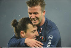 Paris: PSG's English Midfielder David Beckham