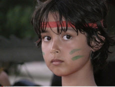 Malaysia, Sabah, Boys with Painted Face
