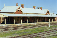 Australia, New South Wales, Narrandera, Railway Station