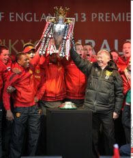 Manchester Premier League trophy