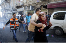Jerusalem clashes on Nakba Day