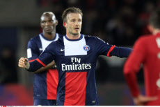 Paris Saint Germain  celebrate French League One title