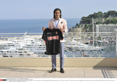 Official presentation of new AS Monaco's football player in Monaco